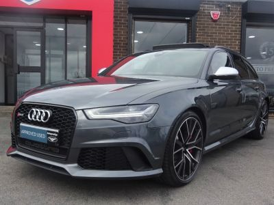 Audi RS6 4.0 Performance Avant Tiptronic Quattro 5dr Estate Petrol GreyAudi RS6 4.0 Performance Avant Tiptronic Quattro 5dr Estate Petrol Grey at Autoprestige Bradford